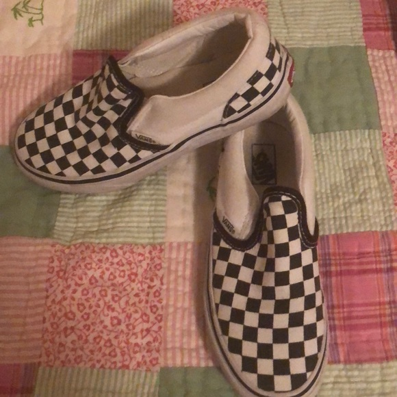 3a28d86f7fc677 Checkerboard Vans Poshmark 20 Sneakers Size Shoes Kids UUA5Tw